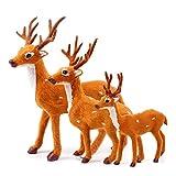 Outtybrave Weihnachtsdeko, Hirsch, Weihnachtsgeschenk für Zuhause, Shop, Bar 20 cm Elk -