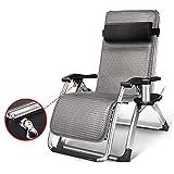 YX Shop® Multifunktionale Liege Im Freien Garten Faul Stuhl Einzelne Ältere Tragbare Klapp Mittagspause Rückenlehne Sessel Einstellbar Leichtgewicht (größe : A-3#)