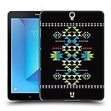 Head Case Designs Schwarz Neo Navajo Ruckseite Hülle für Samsung Galaxy Tab S3 9.7