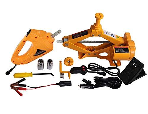 YASI MFG Kit de Elevador de Tijeras automático (2,5 toneladas, para Coche...