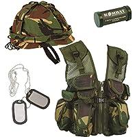 Uniforme militaire britannique - Cadeau pour enfant - Camouflage (lot ... 99d9d090289