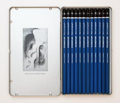 100 TC12 12 morceaux Staedtler crayon graphique Lemoyne Special Package (Japon importation)