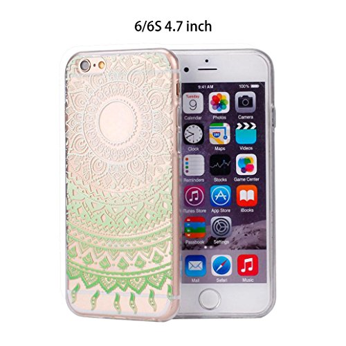 Ouneed® For iPhone 6 6s Hülle,Bunte Vintage Haut PC Hard Case für iPhone 6 / 6S 4,7 Zoll (6/6s G) 6/6s A