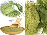 #2: Neem powder for face pack (150 Grams) + Tulsi powder for face (150 Grams) and Mint powder for face (150 Grams ) - 100% Organic offer for Today (400 Grams)