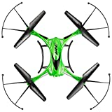 Waterproof Drone Headless Mode One Key to Return 4CH 6Axis Model Structure Resist Stronger Wind RC Quadcopter RTF 3D Roll Night Flight - Green