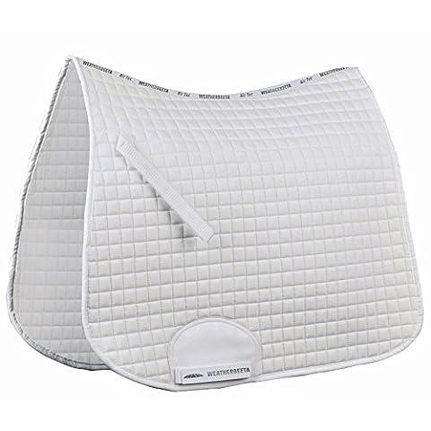 Weatherbeeta Supreme Dressage Full Size Saddle Pad - White