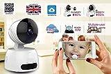 Neue SmartCam Nanny Cam HD 720p 2MP Drahtlose Sicherheit IP-Kamera ERWEITERTE WiFi Pan / Tilt / Zoom, Baby Monitor Ältere Haustier Monitor IR Nachtsicht, Motion Detection Recording, Handy Push Alerts, Zwei-Wege-Audio AS Clever Hund