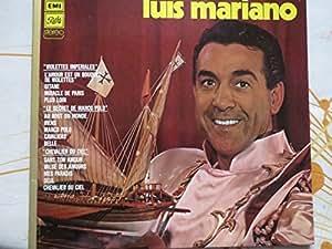 """1 Disque Vinyle LP 33 Tours - Pathé 066-16063 - Luis Mariano - Disque d'or : """"Violettes Impériales"""" : L'amour est un bouquet de violettes, Gitane, Miracle de Paris, Plus loin. """"Le secret de Marco Polo"""" : Au bout du monde, Viens, Marco Pol, Le cavalier, Belle. """"Les Chevaliers du ciel"""" : Sans ton amour, Valse des amours, Mes paradis, Seul, Chevalier du ciel."""