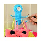 1 Pc New Arrival Super Power Wall Sucker Vacuum Suction Hook Hanger for Kitchen Bathroom Blue