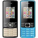 I KALL 1.8 Inch (4.57 Cm) Dual Sim Feature Phone Combo - K24 (Black) And K25 (Black)