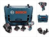 Bosch GSR 12V-20 HX Professional Akku Schrauber in L-Boxx + 2 x GBA 12 V 6,0 Ah Akku + 1 x GAL 1230 Ladegerät