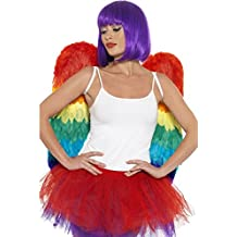b112617600e9 Fancy Dress Four Less Adulti da uomo donna ali di angelo Cupid Cherub  travestimento di Carnevale