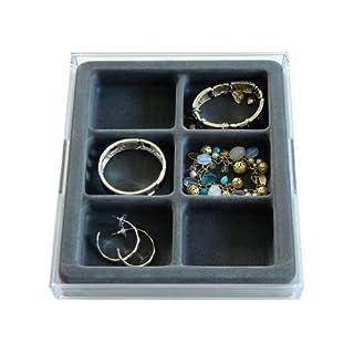 Axis Communication Jewelry Organizer Stack Em 'Jewelry Box 6fach Armband und Ohrring Creolen Schublade Schmuck Tablett, Axis 3302
