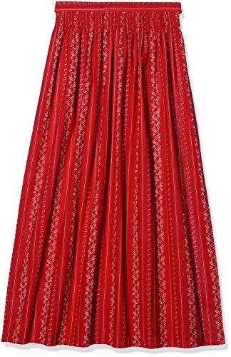 Stockerpoint Damen Dirndlschürze Schürze SC-195, Rot (Rot), 3 (Herstellergröße: 46-50)