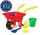 Kinderschubkarre aus Kunststoff