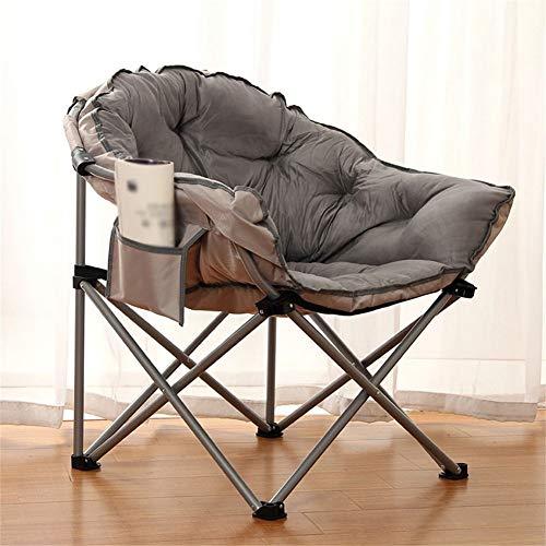 JGWJJ Silla de Camping Moon, 120 kg, cómoda, Silla de jardín Plegable XXL con totalizador (Color : Style D)