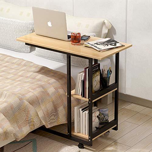 Sunlmg portatile pieghevole portatile stand tavolino/tavolino ciliegio tavolo laterale