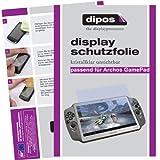 dipos I 2X Pellicola Protettiva Compatibile con Archos Gamepad Pellicola di Protezione Cristallo