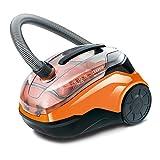 Thomas 786552 CYCLOON Family & Pets Erster beutelloser Hybrid Zyklonsauger, Orange/schwarz