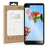 kalibri Protection d'écran en verre pour HTC U Ultra 3D verre de protection film full cover protecteur d'écran avec cadre en noir