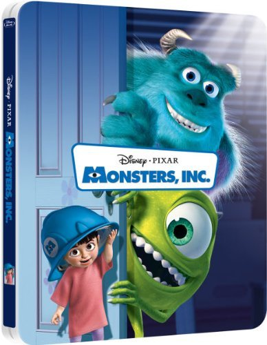 Image of Monsters, Inc. 3D ( Includes 2D Version ) - Limited Lenticular Edition Steelbook Blu-ray
