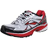 Brooks Men's Adrenaline Gts 13 M White/Silver/Black/Red