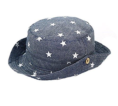 Baby Angeln Hut UV Schutz Sonnenhut Outdoor Sommer Hut Sport Cap Visor Druckmuster (Beanie Hüte Mit Krempe)