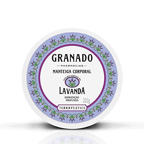 Linha Terrapeutics Granado - Manteiga Corporal Lavanda 200 Gr - (Granado Terrapeutics Collection - Lavender Body Butter Net 7.1 Oz) by Granado -
