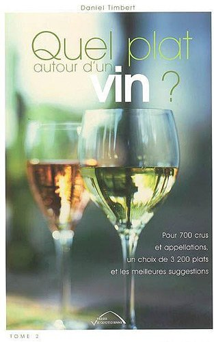 Quel plat autour d'un vin ? : Pour 700 crus et appellations, un choix de 3200 plats et les meilleures suggestions