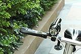 Timorn Lettore MP3 Mutifunctional Radio FM Torcia altoparlante con il TF funzione Smart Phone Banca di potere del caricatore combinato di 360 gradi di rotazione del manubrio della bicicletta supporto della torcia elettrica (Torcia Radio e il Monte Combo Pack)
