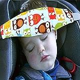 behavetw verstellbarem Verschluss Gürtel, Sicherheit Kids Baby Buggy Auto Sleep Nap Hilfe Kopf Unterstützung Gürtel