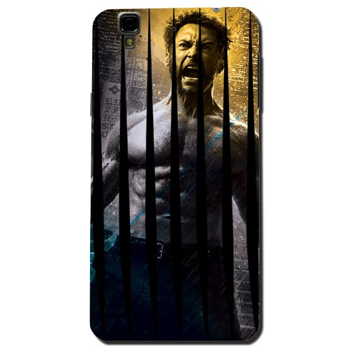 Kaira brand Designer Back Case Cover for Micromax YU Yureka Plus (Wolverine Scratch)