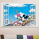 Fange DIY Removable Disney Mickey and Mi...