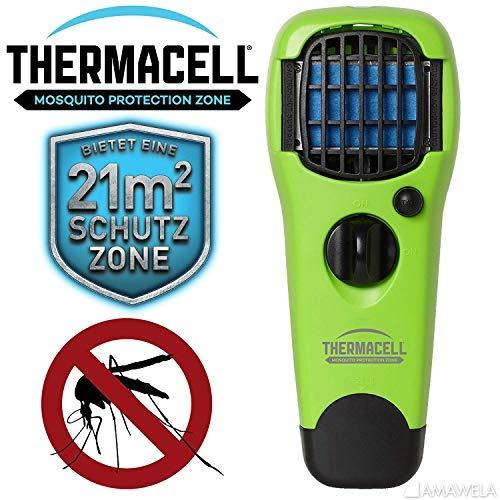Thermacell NEU 2019 Handgerät MR-LJ Lime gegen Mücken | Zuverlässiger Mückenschutz und Insektenschutz | Mückenabwehr ohne DEET | Mück...