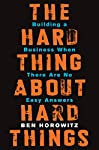 Ben Horowitz, cofounder of Andreessen Horowitz and one of Silicon Valley's most respected and experienced entrepreneurs, offers essential advice on building and running a startup—practical wisdom for managing the toughest problems business school ...
