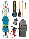 "Red Paddle Explorer 13'2"" iSUP Set 2016 Stand Up Paddle Board inkl. 3tlg Jobe Paddel & Prolimit Paddle Bag Funsport Edition - aufblasbares SUP"