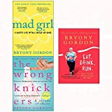 Mad girl and wrong knickers and eat drink run[hardcover] 3 books collection set