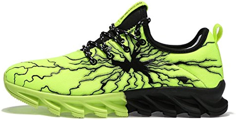 Huateng 2018 New Spring Summer Zapatos Para Hombres Zapatos Para Correr Zapatos Deportivos Transpirables Ocasionales