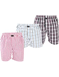 [Sponsored Products]Careus Men's Cotton Boxers (Pack Of 3) - B074N7XTZC