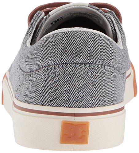 DC Trase TX Se M Shoe LGR, Sneakers da Uomo Grey/Black