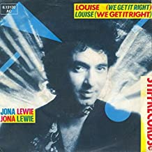 Jona Lewie - Louise (We Get It Right) - Stiff Records - 6.13 120, Stiff Records - 6.13120 AC, Stiff Records - BUY 110