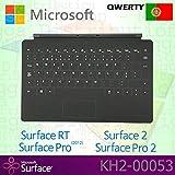Microsoft Surface RT/Pro (2012) / 2 / Pro 2 Touch Cover (portugiesische QWERTY-Tastatur, mit Hintergrundbeleuchtung, Originalverpackung) Schwarz