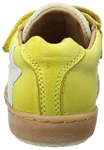 Bisgaard Unisex-Kinder Klettschuhe Low-Top Gelb (8001 yellow)