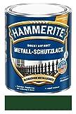 750 ml Hammerite Direkt auf Rost Metall-Schutzlack Dunkelgrün, Glanz