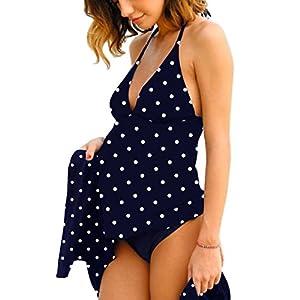 Summer Mae Costumi da Bagno Premaman maternità Tankini Imbottite da Donna 5 spesavip