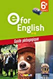 E for English 6e – Guide pédagogique – version papier