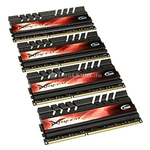 Team Xtreem LV - DDR3 - 16 GB : 4 x 4 GB - DIMM 240-pin