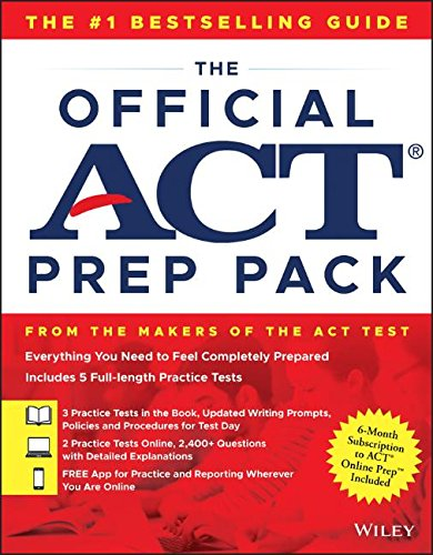 Download Pdf Books The Official Act Prep Pack With 5 Full
