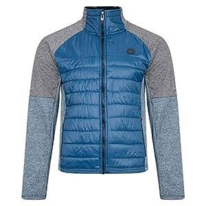 Dare 2b Herren Sparked Full Zip High Loft Insulated Iloft Hybrid Sweater with Chin Guard and Zipped Lower Pockets Strickwaren