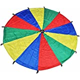 GSI 12 feet Kids play Parachute for cooperative play and for upper-body strength